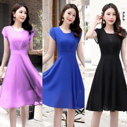 Đầm Voan Chiffon Siêu Xinh