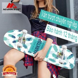 Ván trượt chuyên nghiệp dành cho thanh thiếu niên - Skateboard Marktop Chuẩn quốc tế (Bản UK) - Seagd741 thumbnail