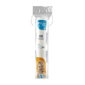Bông Tẩy Trang Siêu Mềm Mịn Cotton Soft 120 miếng DẬP VIỀN CAO CẤP - quop