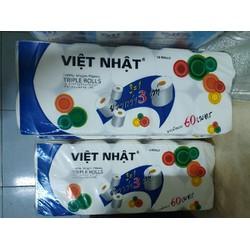 Giấy cuộn vệ sinh Việt Nhật ( 1 xách 10 cuộn)