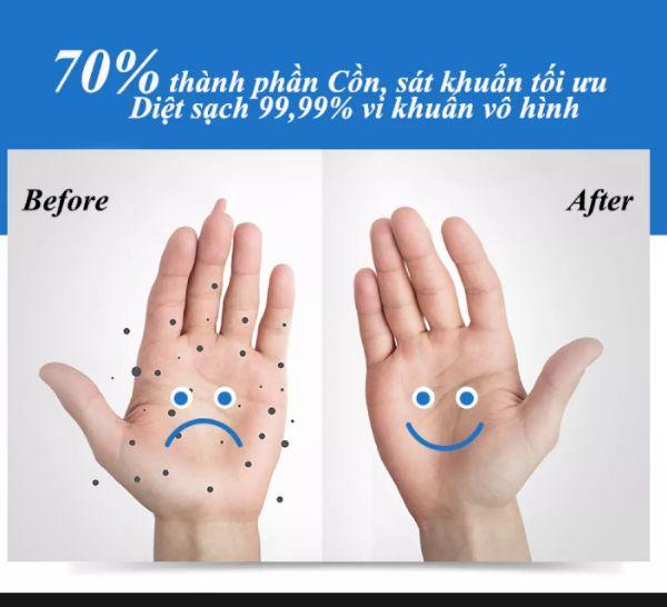 Gel Rửa Tay Khô Cao Cấp Dưỡng Da Super Clean ISO 300ml