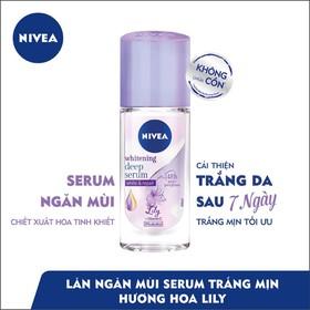 Lăn ngăn mùi Nivea serum trắng mịn hương hoa Lily 40ml_85310 - 8850029029979-2