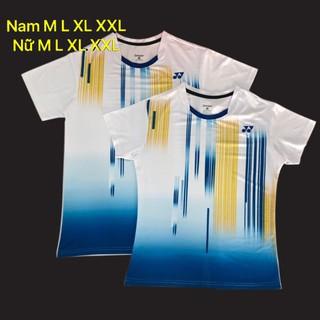 Áo Cầu lông yonex 2020 Nam Nữ Trắng - 097 thumbnail