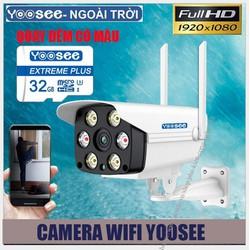 [FREE SHIP - Tặng thẻ Yoosee 32G] Camera YOOSEE ngoài trời 2 Megapixcel - Full HD 1080P - Quay đêm có màu