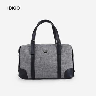 Túi xách du lịch đa năng unisex chữ nhật phối dây da IDIGO UB2-517-00 - UB2-517-00 thumbnail