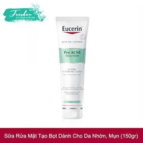 Sữa rửa mặt tạo bọt trắng da Eucerin White Therapy Clinical Gentle Cleansing Foam 150g - sữa rửa mặt trắng da eucerin