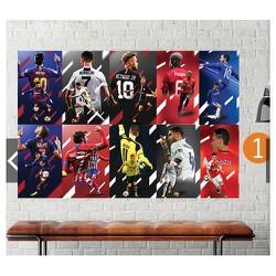 Decal dán tường cầu thủ bóng đá