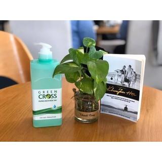 Gel rửa tay khô Green cross Chai 500ml (có sẵn) - GREEN thumbnail