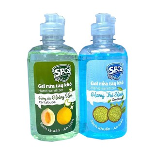 Nước rửa tay khô S.P.Ca. 250ml sạch khuẩn 99,9% - Gel thumbnail