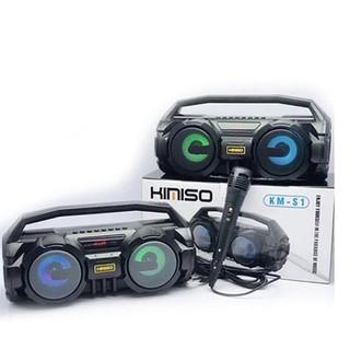 Loa Karaoke Bluetooth Xách Tay KM-S1 - Tặng Kèm 1 Mic Có Dây - MICKMS1 - Loa Karaoke Bluetooth thumbnail
