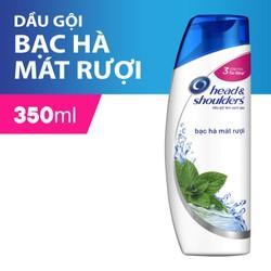 Dầu Gội Head & Shoulders Bạc Hà Mát Lạnh 350ml