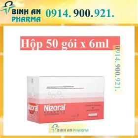 Nizoral hộp 50 gói - Nizora Hop