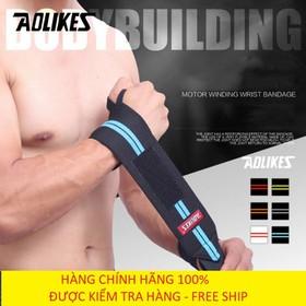 Đai cuốn cổ tay - Cuốn bảo vệ cổ tay - Đai quấn cổ tay tập gym AoLikes Al1538 - Aolikes AL1538