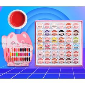 sét gel vẽ chuẩn xịn shellac 36 màu - 808