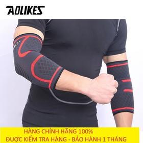 Bảo vệ khuỷu tay - Đai bảo vệ khuỷu tay tập gym - Băng bảo vệ cùi chỏ Aolikes AL7547 (1 đôi) - Bảo Vệ Khuỷu Tay Aolikes AL7547