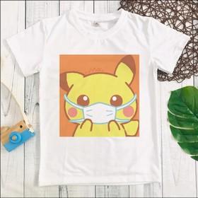 Áo thun in hình pikachu bé trai - MM085_PKC