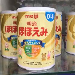 Sữa Meiji 0-1 nội địa 800g