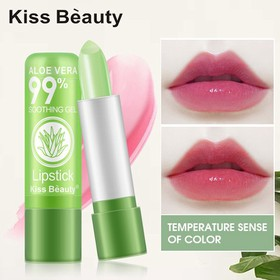Son dưỡng môi nha đam cho bạn đôi môi hồng tự nhiên - Giữ ẩm, chống khô môi