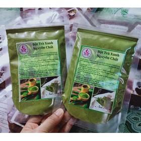 100g bột trà xanh nguyên chất - bột trà xanh