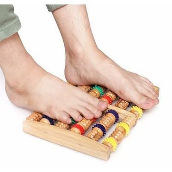 [Mua 2 trợ ship] Dụng cụ massage chân L gỗ , giảm bệnh