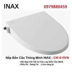 Nắp bồn cầu thông minh Inax CW-S15VN, nắp bồn cầu rửa cơ - cw-s15vn