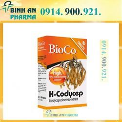 trâm bap 900 BIOCO H-CODYCEP CORDYCEPS SINENSIS EXTRACT 90 viên Nấm đông trùng hạ thảo tăng cường đề kháng