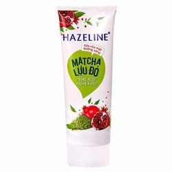 Sữa rửa mặt sáng da Hazeline Matcha lựu đỏ 80g hàng khuyến mãi