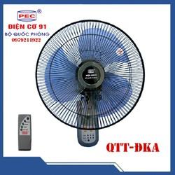 Quạt treo tường điều khiển Điện cơ 91 kiểu mới-QTT-ĐKA