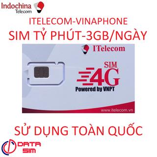 SIM 4G ITELECOM MỖI NGÀY 3GB TỐC ĐỘ CAO TỶ PHÚT GỌI MIỄN PHÍ-5 - 5kINDO-0D-CK2 thumbnail