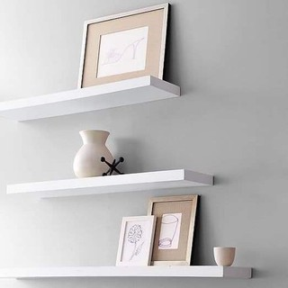 kệ gỗ trang trí treo tường 3 thanh ngang dài 40 50 60cm - 035 thumbnail