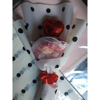 Handmade_bó hoa ruy băng & trái tim - HM08 thumbnail