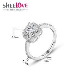 Khuyên tai nữ họa tiết đính đá siêu dễ thương – Trang sức nữ bạc 925