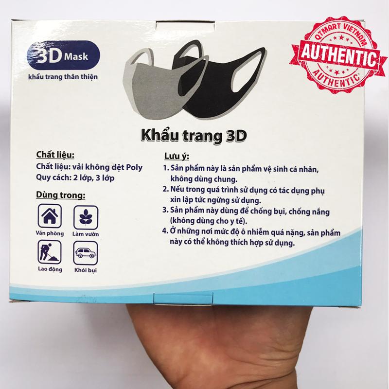 Combo Xà Phòng SAFEGUARD và Hộp 3 Khẩu trang 3D chống thấm, Chống bụi Bảo vệ hô hấp - CỤC SAFEGUARD+HỘP 3 KHẨU TRANG 4