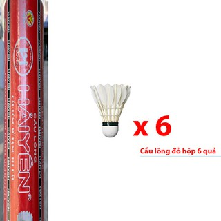 Quả cầu lông Hải Yến hộp đỏ 6 quả HD06 - HD06G60 thumbnail