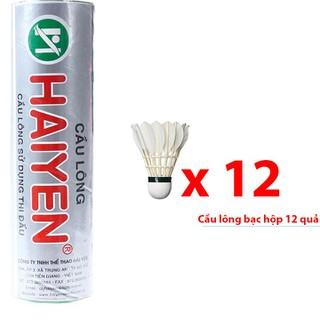 Quả cầu lông Hải Yến hộp bạc 12 quả HB12 - Hb12G95 thumbnail