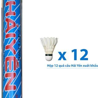 Quả cầu lông Hải Yến hộp xanh xuất khẩu 12 quả HX12 - HX12G95 thumbnail