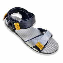 [FreeShip Toàn Quốc] Dép sandal _ GIÀY SANDAL NAM ARICH BY ARIES MÀU ĐEN BẠC