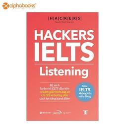 Sách Alphabooks - Hackers IELTS - Listening - 8935251410686