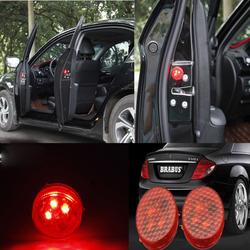 Bộ 2 đèn led nhấp nháy, đèn cảnh báo mở cửa xe hơi, ôtô 206667