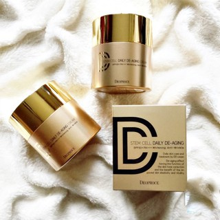 Kem nền DD Cream 3 trong 1 DEOPROCE Stem Cell Daily De-Aging DD Cream Tone 23 - DEO00012 thumbnail