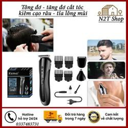 Tông đơ cắt tóc kiêm cạo râu-tỉa lông mũi 3in1 Kemei 1407 – tong đo 14 – tăng đơ 1407