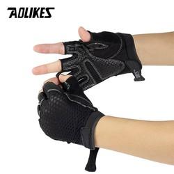 Bộ đôi găng tay thể thao thoáng khí Aolikes AL110-1 đôi