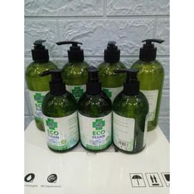 NƯỚC RỬA TAY KHÔ eco clean LOẠI 500ML - Nước rửa tay kháng khuẩn