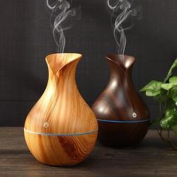 [HỖ TRỢ PHÍ VC]]Máy phun sương vân gỗ cổ cao tạo độ ẩm thông minh- HỖ TRỢ PHUN TINH DẦU LÀM THƠM PHÒNG