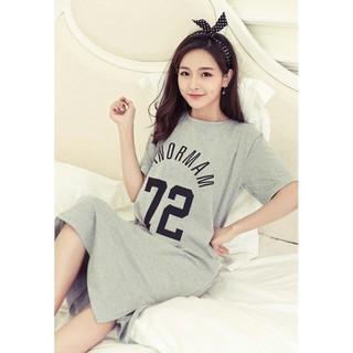 Váy Bầu Thiết Kế Chất Cotton Mềm Mát V316 - 3131866544 thumbnail
