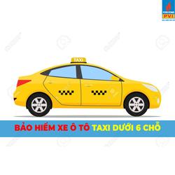 Bảo hiểm ô tô taxi dưới 6 chỗ