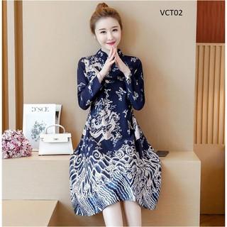 Váy Bầu Thiết Kế Cao Cấp Mã Vct02 - 3320580599 thumbnail