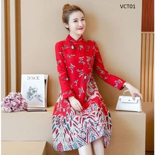 Váy Cách Tânthiết Kế Vct01 - 6920484604 thumbnail