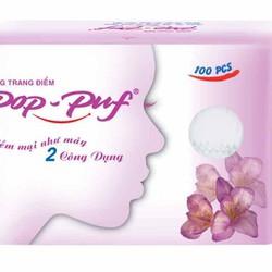 Bông trang điểm Pop-Puf 2 công dụng 100 miếng/hộp