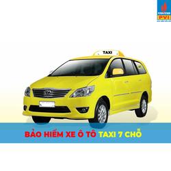 Bảo hiểm ô tô taxi 7 chỗ